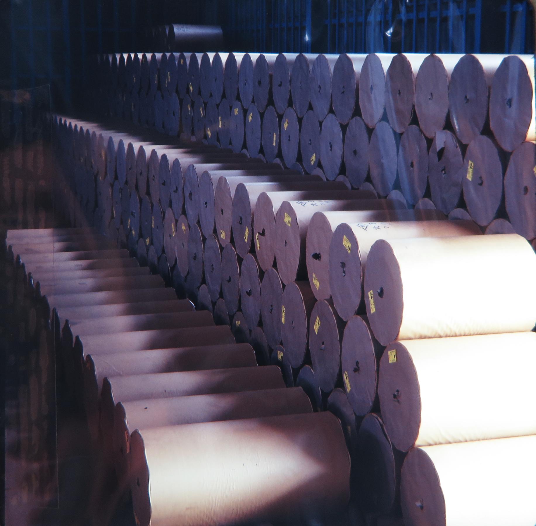 地元製紙メーカーの製紙原料